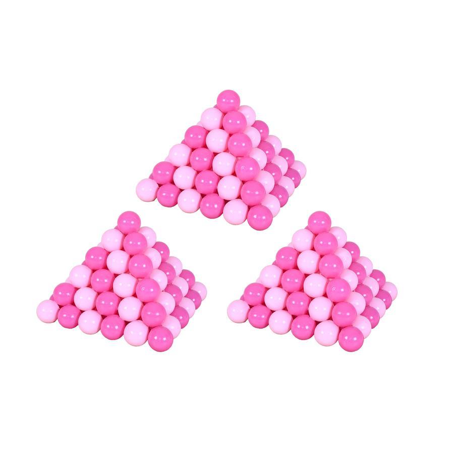 knorr® toys Bälleset 300 Stück, pink