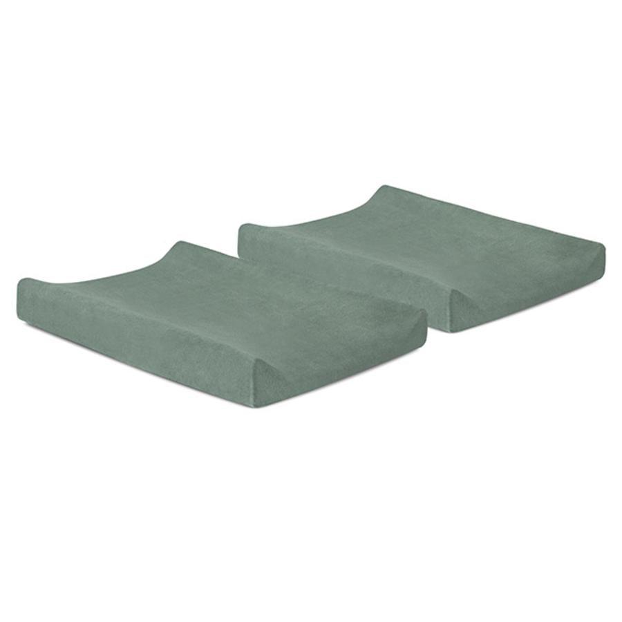 jollein Wickelkissenbezug ash green 50 x 70 cm 2er-Pack
