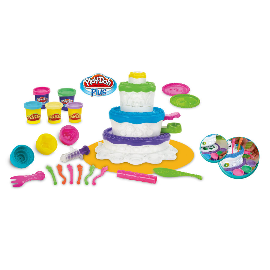 Play-Doh Party Tortenzauber