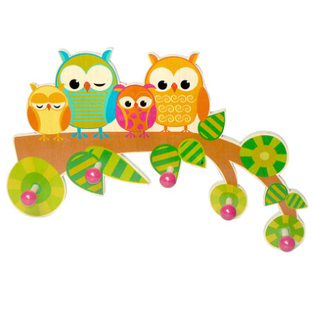 HESS Coat Rack - Owls