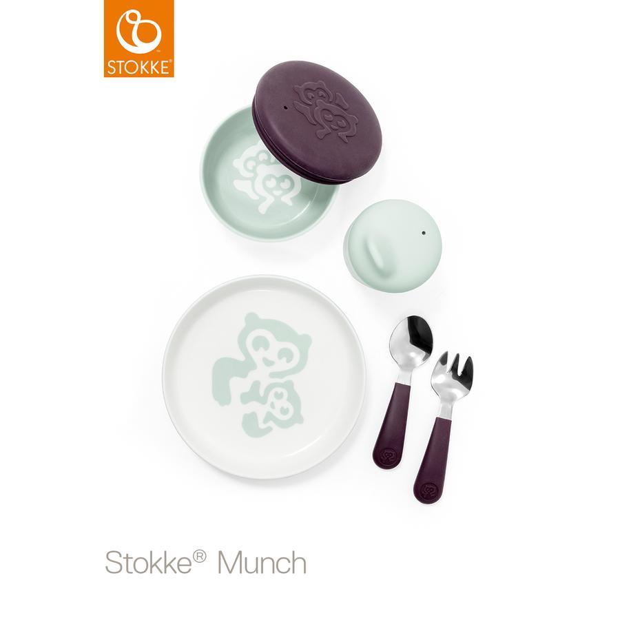 STOKKE® Geschirr-Set Munch Everyday Soft Mint ab dem 1. Jahr