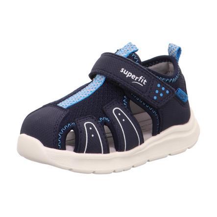 superfit Sandale Wave blau (mittel)