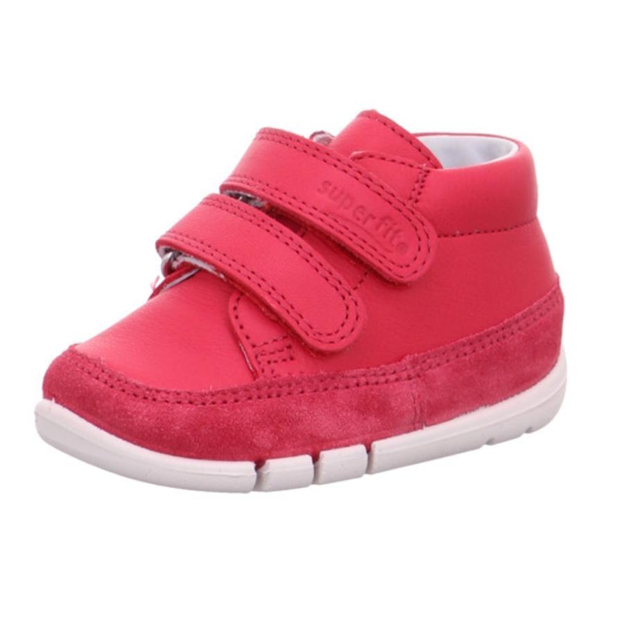 superfit Chaussures bébé scratch Flexy rouge, largeur moyenne