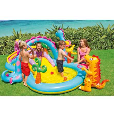 INTEX Bazének - Playcenter Dinoland - 333 x 229 x 112 cm