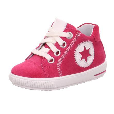 superfit  Girls Nízká obuv Moppy red/white (medium)