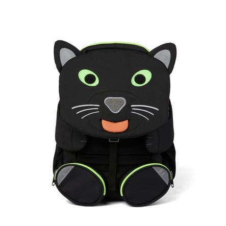 Affenzahn Große Freunde - Kinderrucksack: Panther schwarz