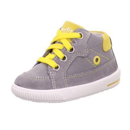 superfit  Nízká obuv Moppy šedá/žlutá (střední)