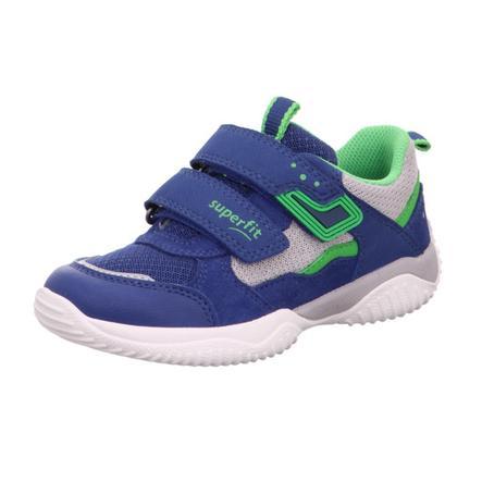 superfit Low sko Stormblå / grøn (medium)