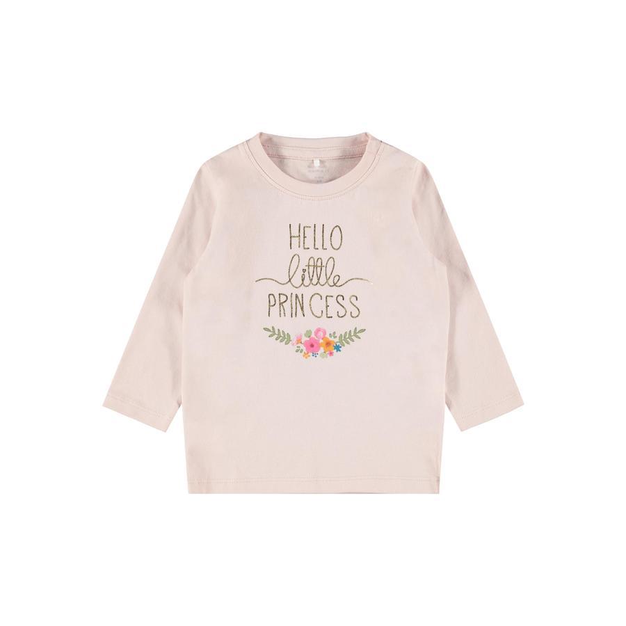 name it Pitkähihainen paita NBFBIANCA Peach Whip