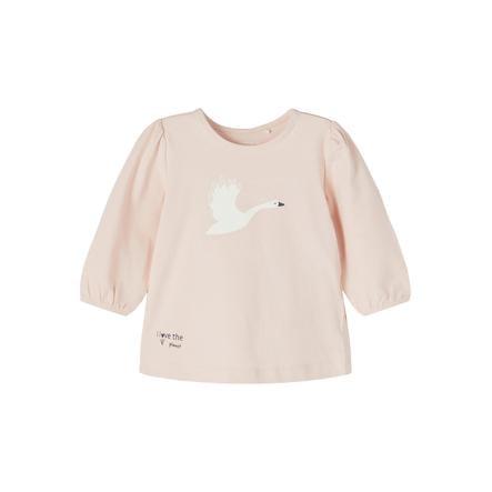 name it Shirt met lange mouwen NBFBONNIE Peach Whip