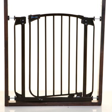 Dreambaby® Barrière de sécurité enfant auto-fermeture Chelsea métal, noir