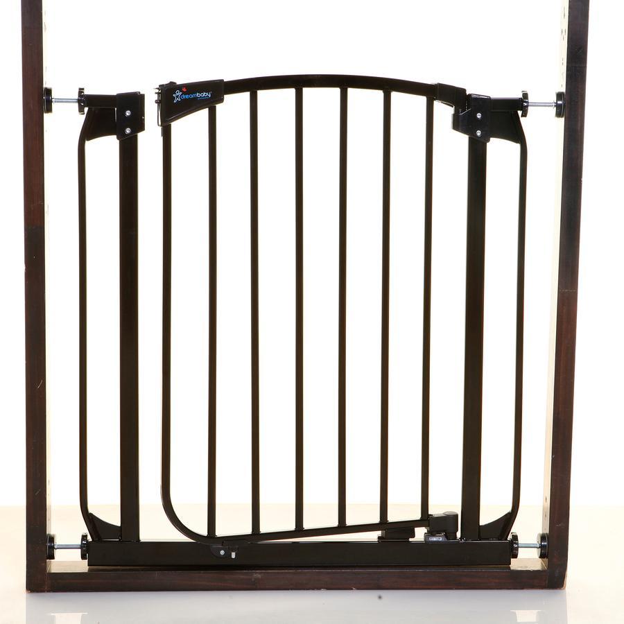 Dreambaby® selbstschließendes Metall-Türschutzgitter Chelsea, Schwarz