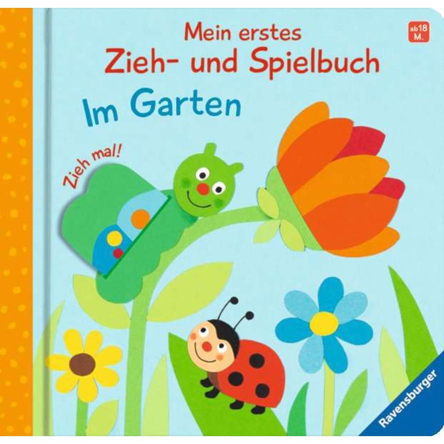 Ravensburger Mein erstes Zieh- und Spielbuch: Im Garten