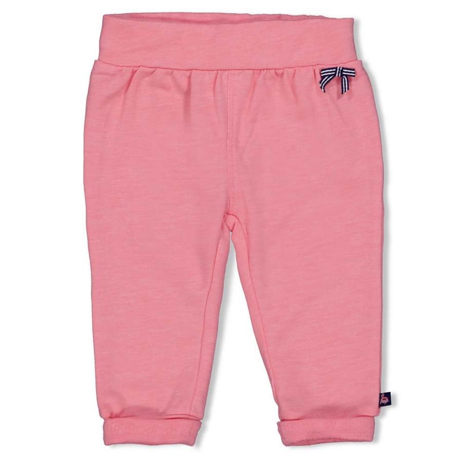 Feetje Pantalon bord de mer Baisers rose