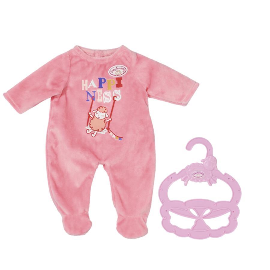 Zapf Creation Vêtement de poupée grenouillère rose Baby Annabell® Little 36 cm
