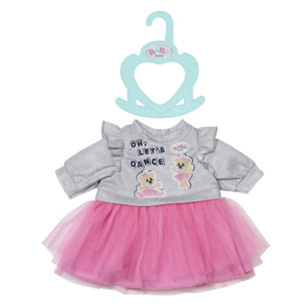 Zapf Creation BABY born Lille kjole lyserød 36 cm