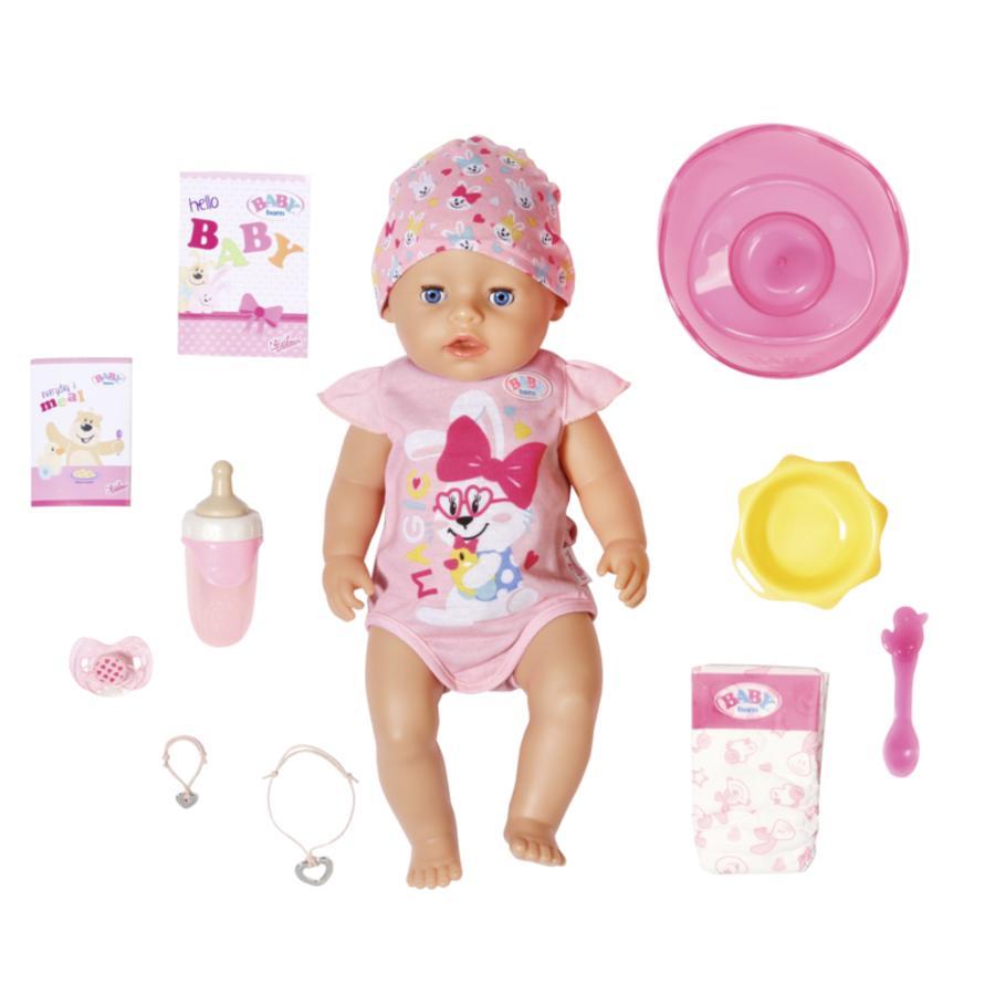 Zapf Creation BABY born® Magic Girl, 43 cm