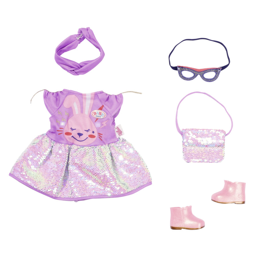 Zapf Creation BABY born Deluxe Happy Birthday Outfit 43 cm