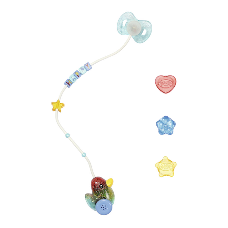 Zapf Creation BABY born Happy Birthday Interactive Magic Schnuller 43 cm