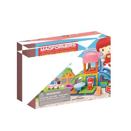 MAGFORMERS ® Jeu de construction magnétique enfant Set Town glacier