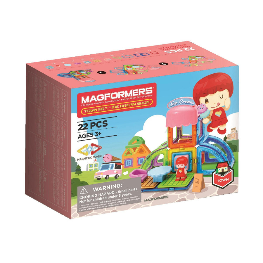 MAGFORMERS® Town Set - Ice Cream