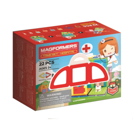 MAGFORMERS ® Town Set - Hospital