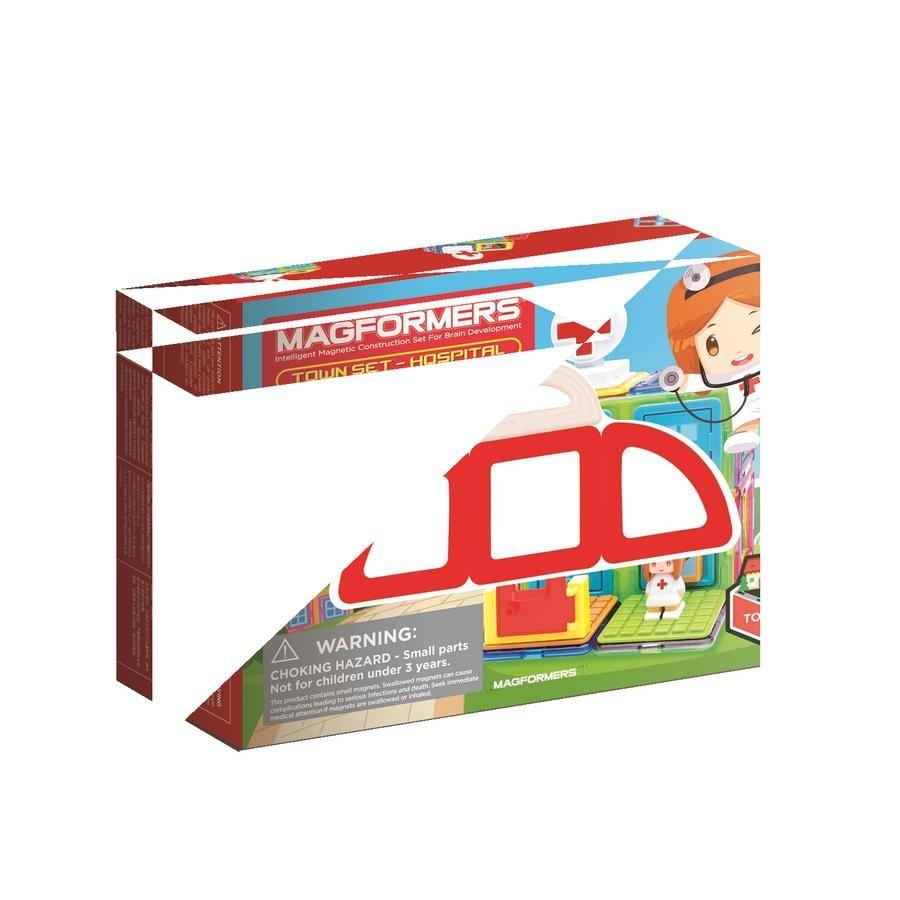 MAGFORMERS ® Jeu de construction magnétique enfant Set Town hôpital
