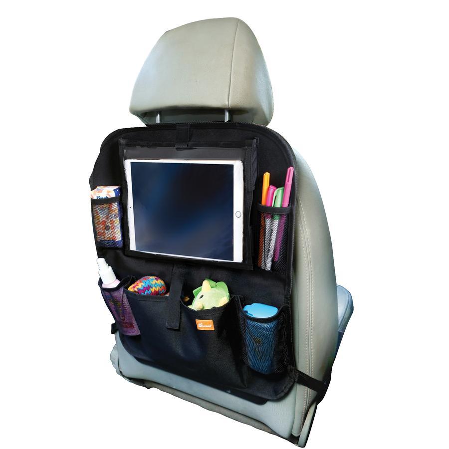Dreambaby® Organisateur pour siège voiture, fixation tablette/iPad, noir