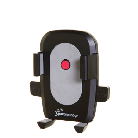 Dreambaby® Fixation pour smartphone pour poussette Strollerbuddy®, noir