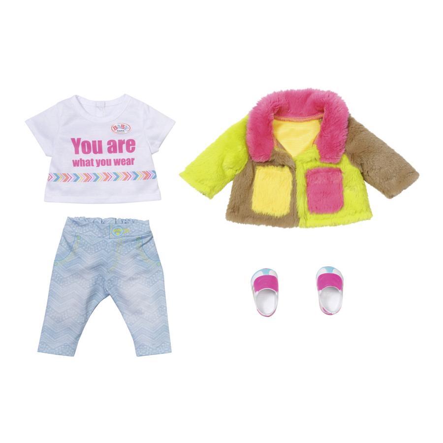Zapf Creation BABY born® Deluxe Rainbow Coat, 43 cm
