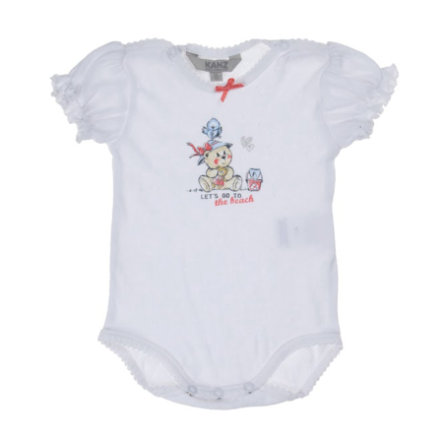 KANZ Baby Body 1/4 Arm bright white