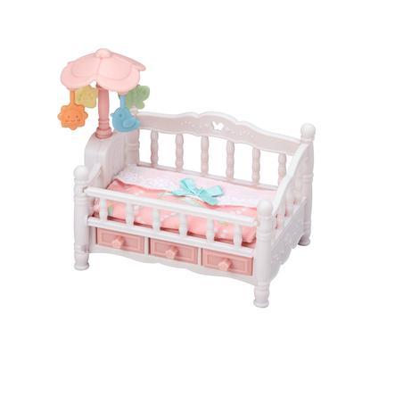 Sylvanian Families® Figurine lit de bébé et mobile 5534