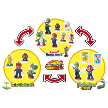 EPOCH Super Mario Blow Up Shaky Tower