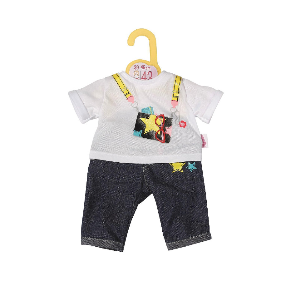 Zapf Creation Dolly Moda Jeans Hosen Outfit 43cm
