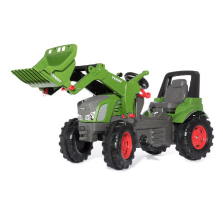 rolly®toys Tracteur à pédales enfant rollyFarmtrac Fendt Vario 939, pelle avant