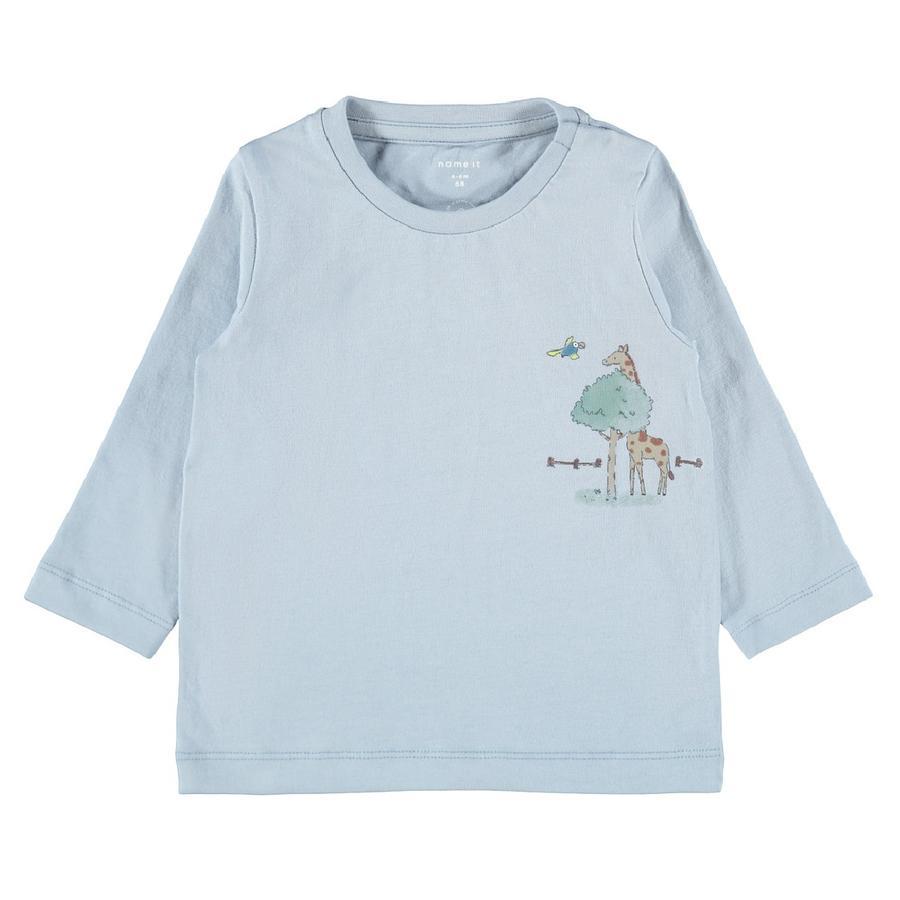 Name it Langærmet skjorte NBMTIFAR Dusty Blue