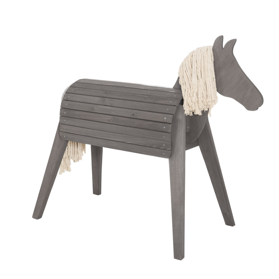 roba Hrací kůň Outdoor šedý