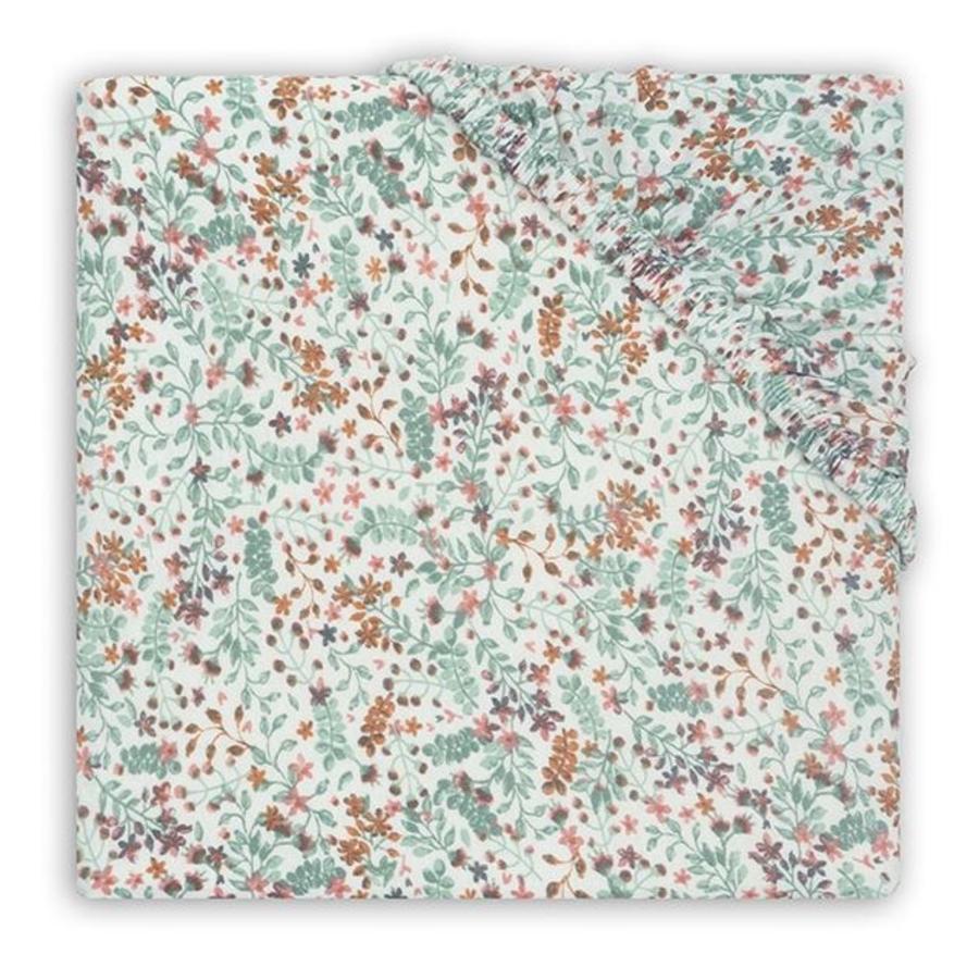 Jollein Jersey Kravelgårdsmadras Bloom 75 x 95 cm