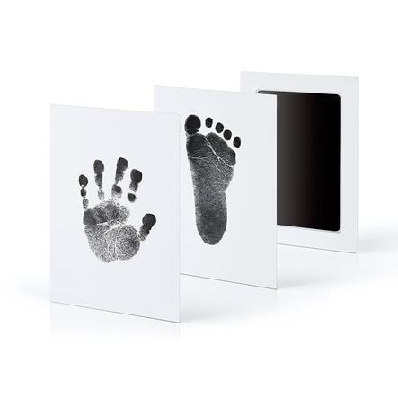 kiinda Hand- und Fußabdruckset groß CleanTouch, in schwarz