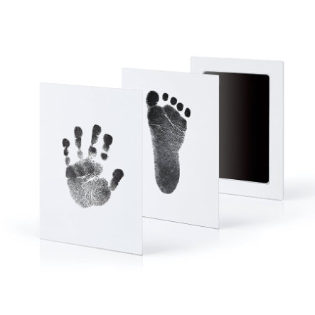 kiinda Kit empreintes enfant CleanTouch grand, noir