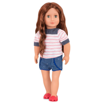 Our Generation - Lalka Shailene w stroju plażowym 46 cm