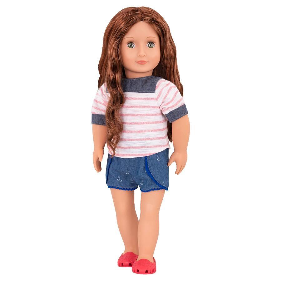 OG - nukke Shailene rantapuvussa 46 cm