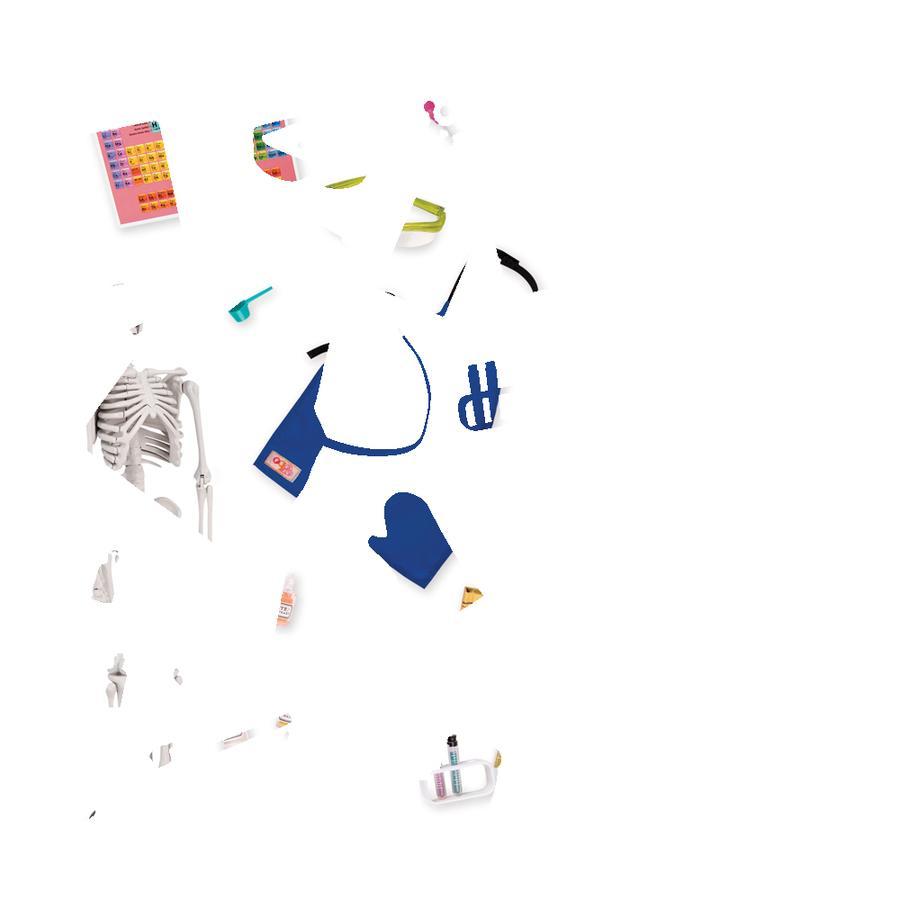 Our Generation Accessoire pour poupée labo scientifique salle de classe