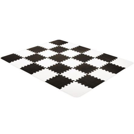 Kinderkraft Luno skum puzzle matte, svart