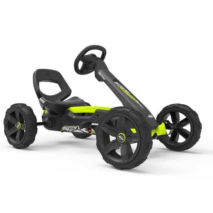 BERG Pedal Go-Kart Reppy Raptor - Sondermodell - Limited Edition inkl. Soundbox