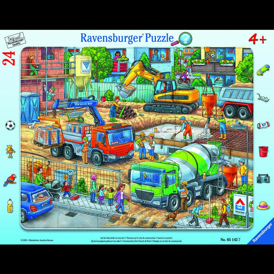Ravensburger Er is iets aan de hand op de bouwplaats!
