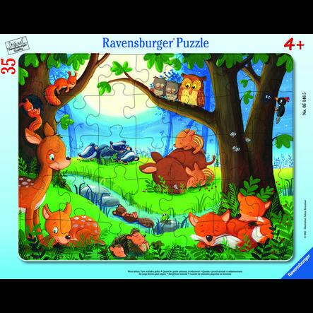 Ravensburger Rahmenpuzzle - Wenn kleine Tiere schlafen gehen