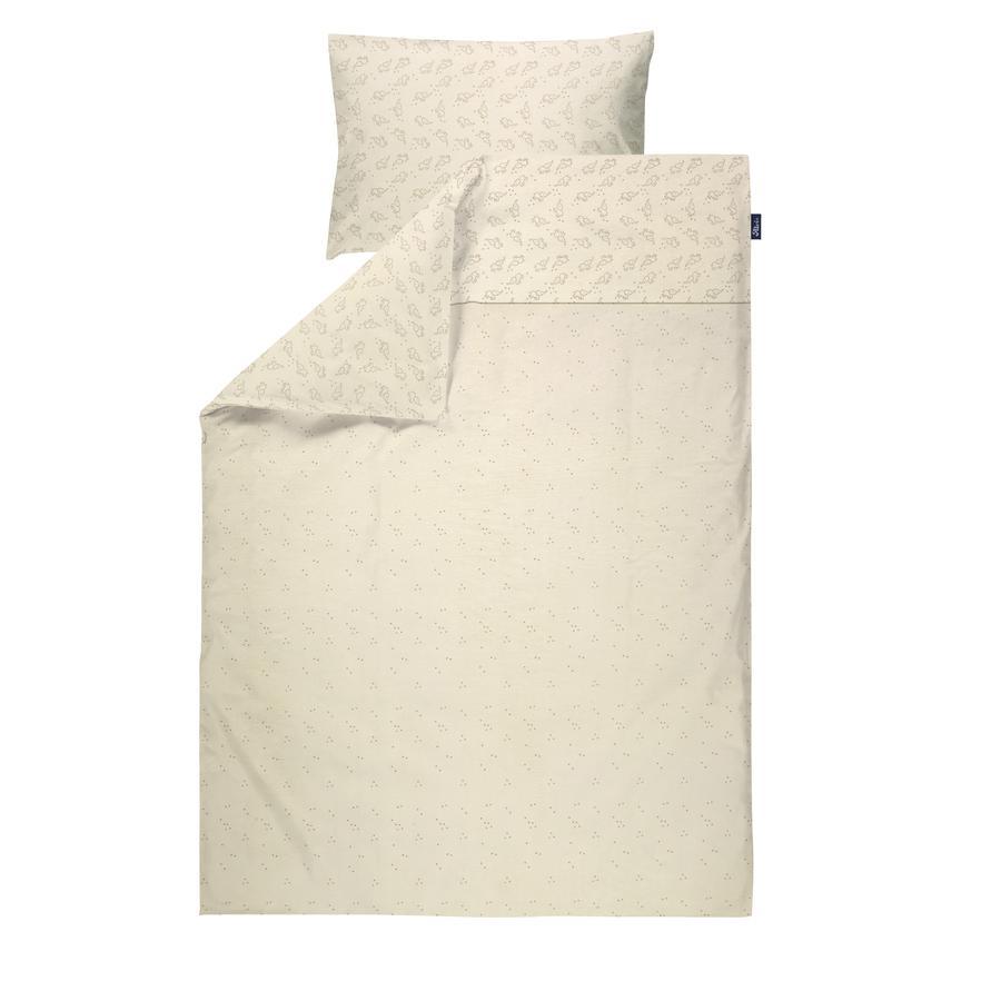 Alvi® Parure de lit enfant Starfant coton bio 100x135 cm