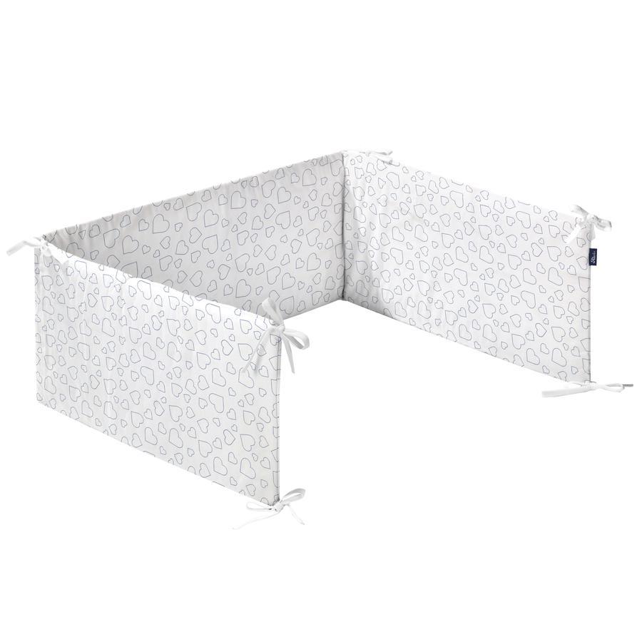 Alvi Nestchen Standard Hearts White 180 cm