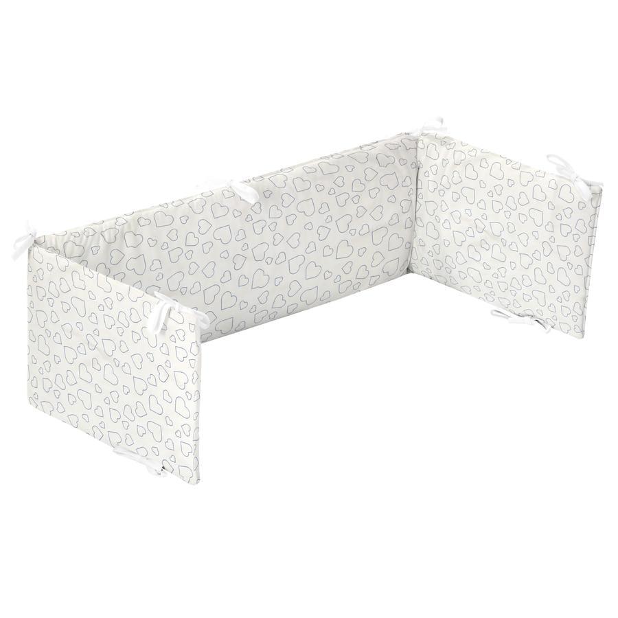 Alvi Nest voor extra bed Heart s White
